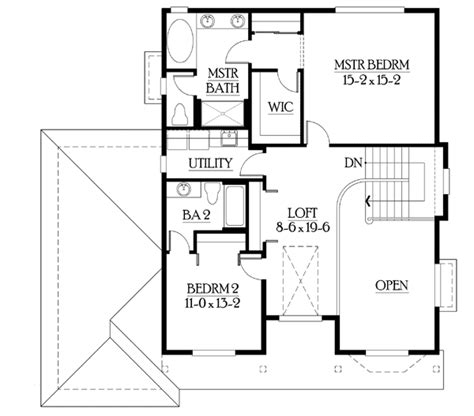 compact house plan with finished basement 23245jd 2nd
