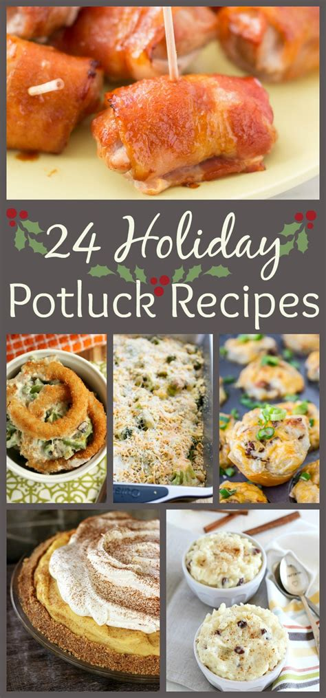 24 holiday potluck recipes to wow the crowd the weary chef