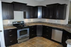 Black espresso mirage woodworks kitchen bath and furniture