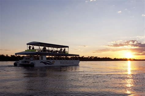 boat cruise zambezi river sundowner cruise batonka guest lodge