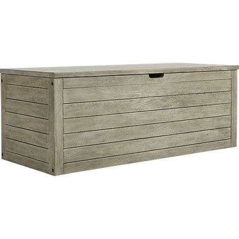 bunker storage chest bench