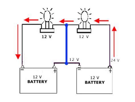 wiring 2 6 volt batteries to make 12 wiring get free