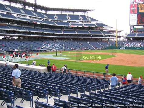 what is section 117 citizens bank park section 117 seat views seatgeek