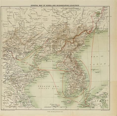 korea and neighbours a narrative of travel with an account of the recent vicissitudes and present position of the country classic reprint books 2 map end of volume 2 general map of korea and