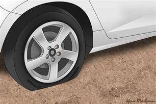Car Tires Going Flat How To Fix A Flat Tire Yourmechanic Advice