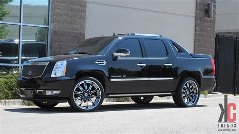 Custom Cadillac Escalade Ext by Custom Cadillac Escalade Ext On Rims Escalades