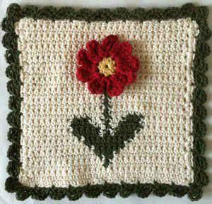 2011 por dul machado marcadores flores de crochet graficos crochet croch 234 com flor aplicada s 243 id 233 ias