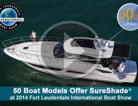 fort lauderdale boat show video sureshade 2013 fort lauderdale boat show video sureshade