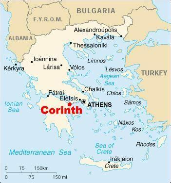 map of corinth 8170 corinth