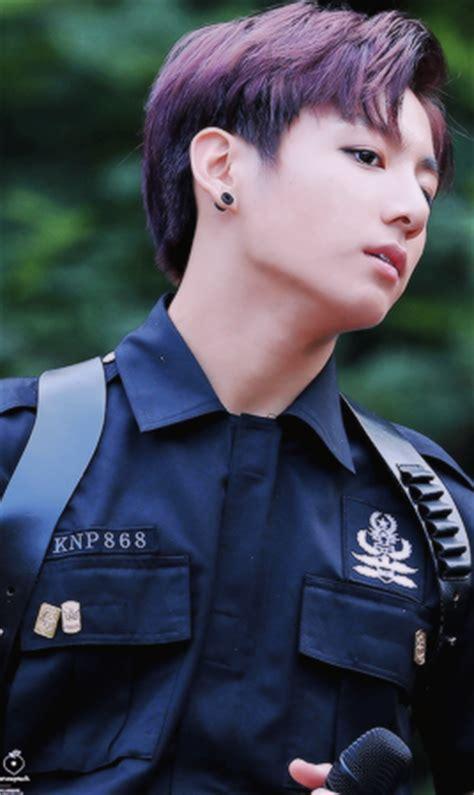 model rambut jungkook officer jungkook
