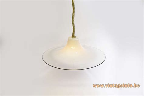 Glass Pendant Light Leucos Glass Pendant L Vintage Info All About Vintage Lighting