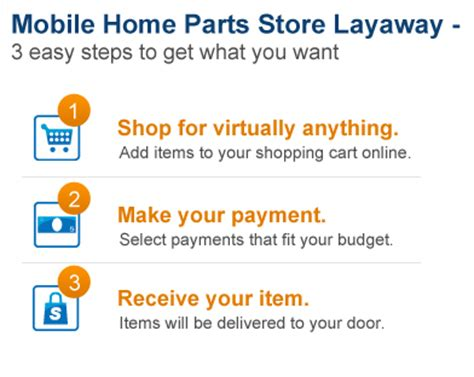 mobile home parts store layaway mobile home parts store