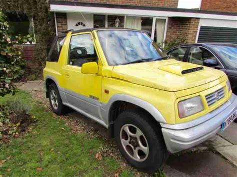 Suzuki Vitara Hardtop For Sale Suzuki Vitara With Removable Hardtop Spares Or Repair