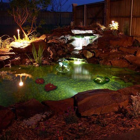 solar pond lights the s catalog of ideas