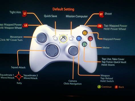 game controller layout mass effect 2 xpadder profile xbox360 controller