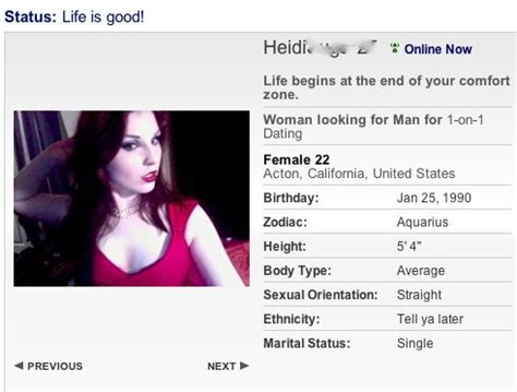 dating profile examples what i looking for