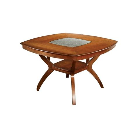 Dining Table Shelf Glass Top Insert Rounded Square Dining Table With Bottom Shelf Wood Oak Fur Ebay