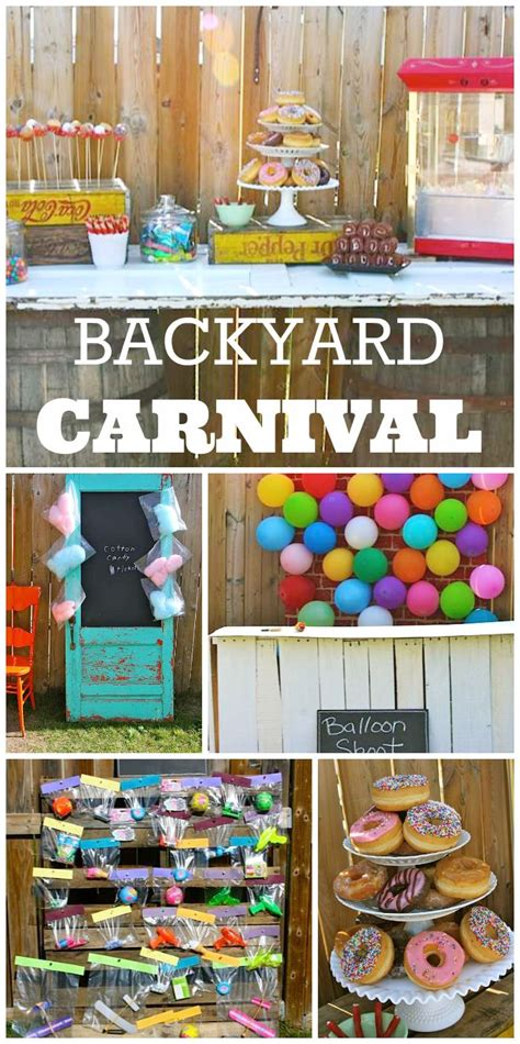 backyard carnival party ideas backyard carnival birthday party ideas 2017 2018 best