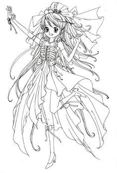 anime magical girl coloring pages 1000 images about coloriages images mangas animes on