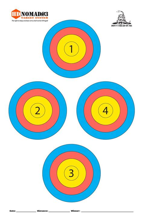 printable 11x17 targets pin by mark sman on range and targets pinterest target