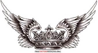 crown tattoo picures images
