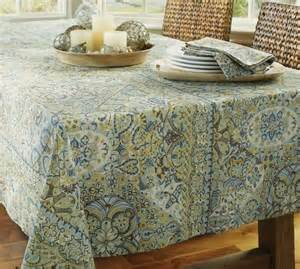 mosaic tile tablecloth pottery barn home style