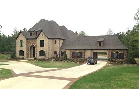 european estate house plans estate home plan with motorcourt 60592nd 1st floor master suite butler walk in pantry cad