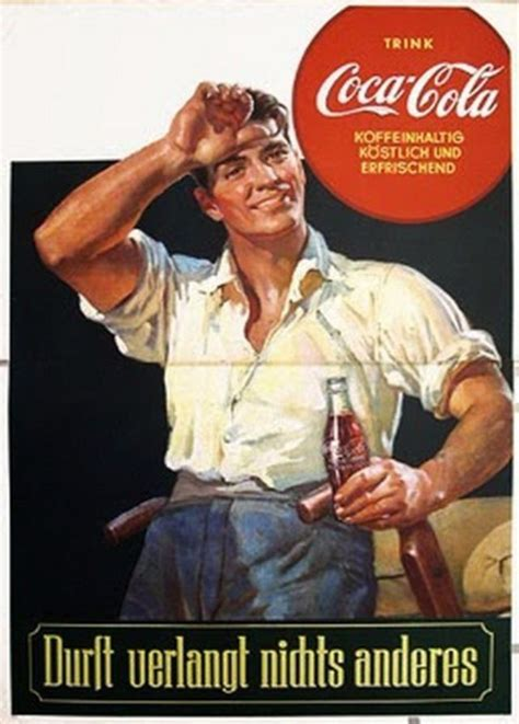 Tiny Planes vintage coca cola advertisements under the nazis