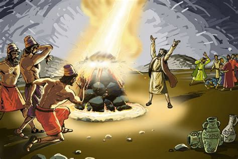 The Prophets Of Baal elijah and the prophets of baal the bible history books