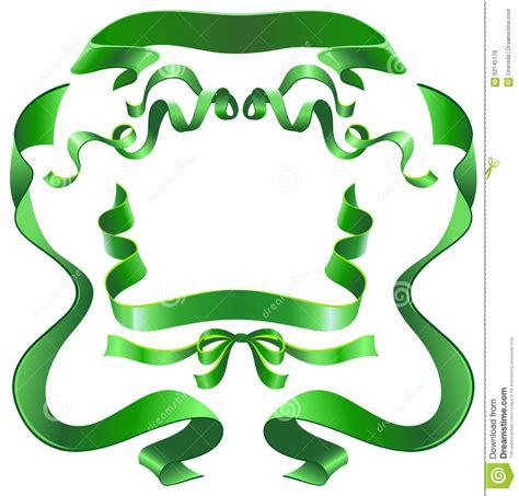 Set Ribon blue sky ribbon set stock photo cartoondealer 74443980
