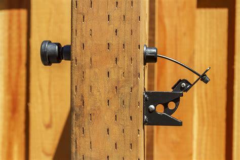 wood fence latch actuator fence ideas wood fence latch