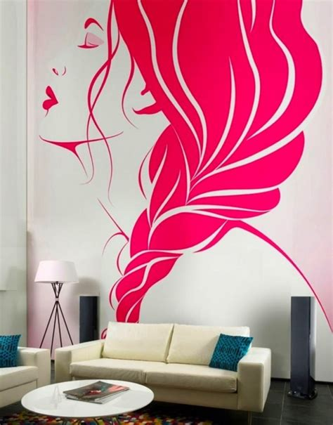 pink bedroom wall designs 40 easy wall painting designs