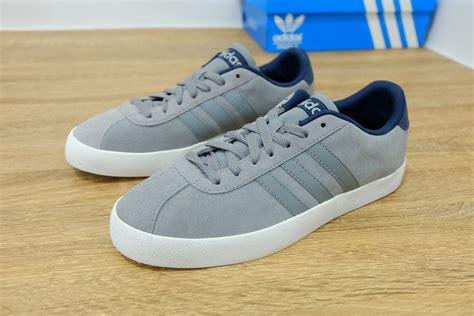 Sepatu Adidas Neo High Grey by Adidas Neo Suede Navy Grey