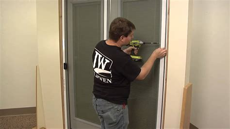 How To Hang A Screen Door by Reliable Sources To Learn About How To Install A Sliding