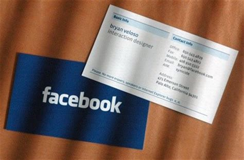 What Is A Facebook Gift Card - what do facebook business cards look like quora