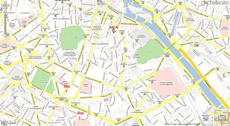 printable paris road map printable street map of paris frtka com