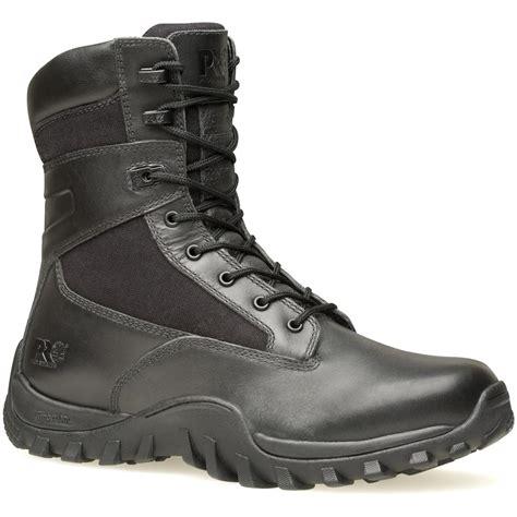s timberland pro 174 8 quot mcclellan basic duty boots black