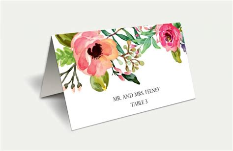 Do It Yourself Place Cards Templates by Instant Diy Printable Place Cards Wedding