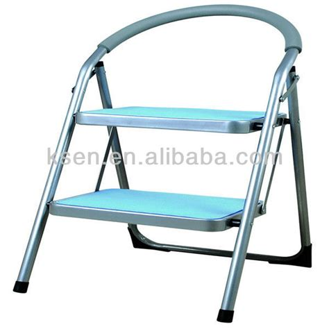 Padded Seat Step Stool by Fashion Folding 2 Padded Step Stool With Soft Cusion Seat