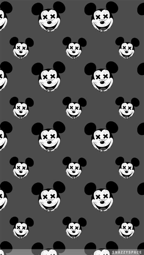 Dead Mickey iPhone Wallpaper