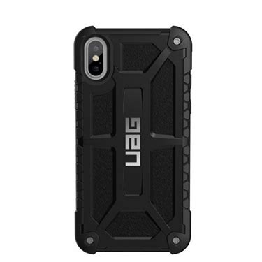 Uag Monarch Iphone X Carbon Black Original uag iphone x monarch matte black midnight ymoz