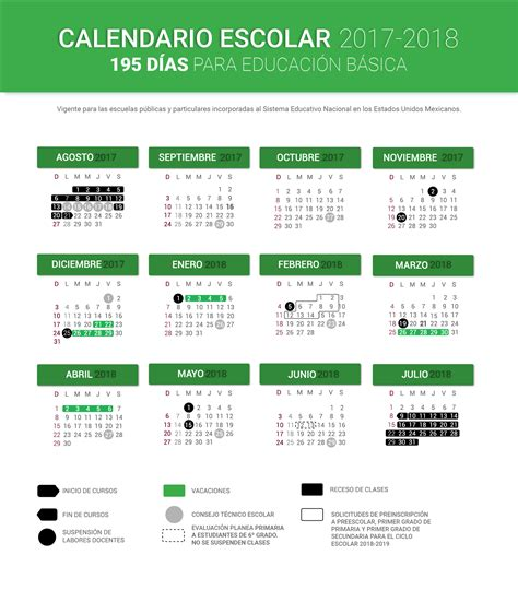 Calendario Actual 2017 Calendario Escolar 2017 2018 195 D 237 As Portalsej