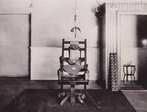 Electric Chair Execution Photos by The Execution By Electric Chair
