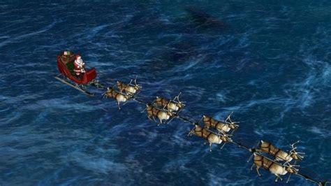 santa tracker santa tracker norad s cool sleigh tracking of his