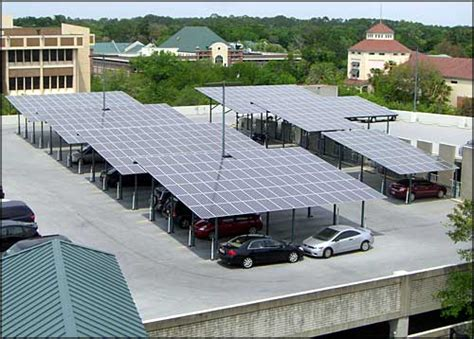 Solar Garage by County Looking To Add Solar Panels To Parking Garages