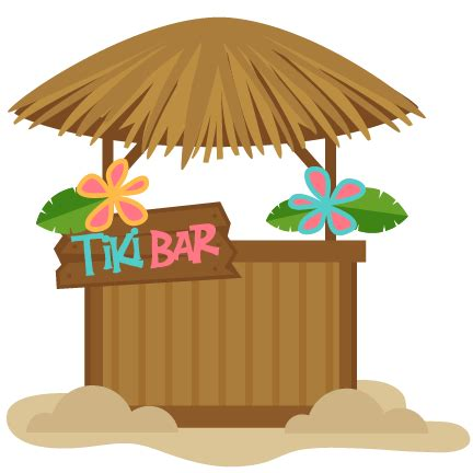 tiki hut roof clip tiki bar svg scrapbook cut file clipart files for