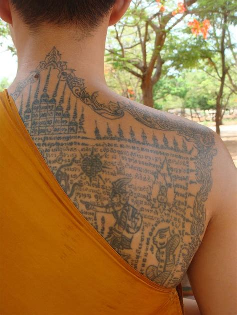 thai buddhist tattoos designs 121 best thai tattoos sak yant images on