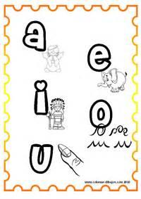 imagenes para colorear las vocales dibujos para colorear de vocales vocales min 250 sculas