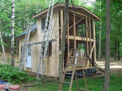 cabin 12 x 20 with loft small cabin forum 1