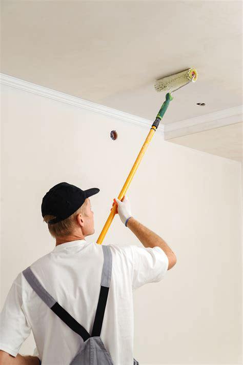 How To Clean Ceilings by Cleaning Up A Water Stained Ceiling